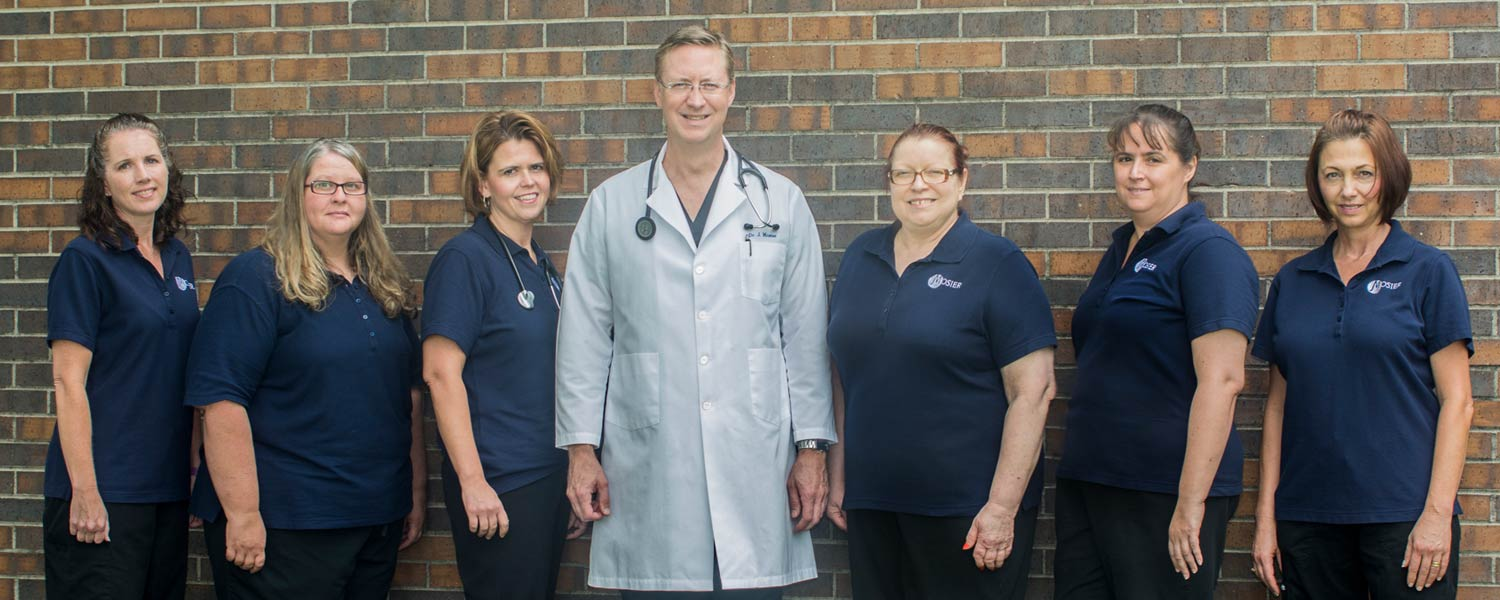 Doctor Mosier staff